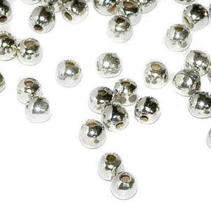 Quetschkugeln 2 mm Silber