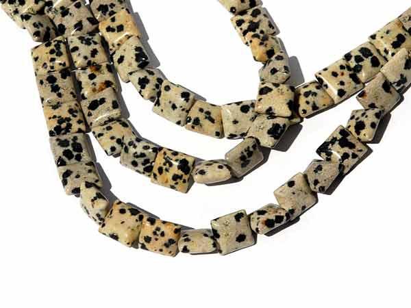 Dalmatiner Jaspis Perlen