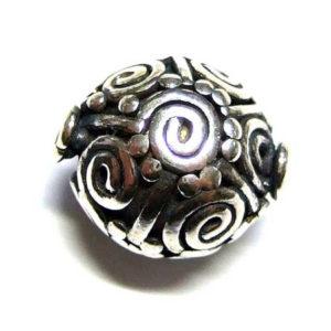 Silberperlen Bali Beads