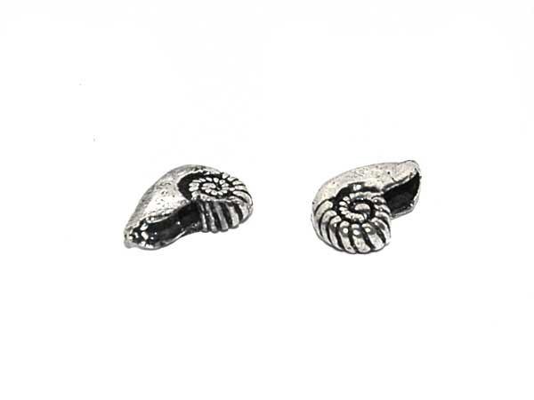 Silberperle Ammonit
