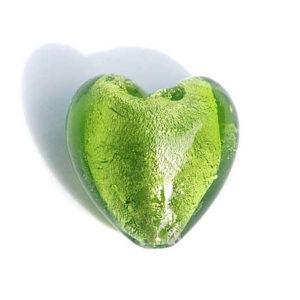 Silverfoil Perle Herz