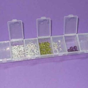 Aufbewahrungsbox für Perlen - Schmuckzubehör