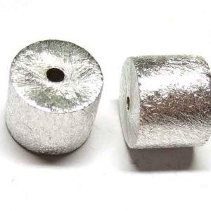 Silberperle Walze aus Silber