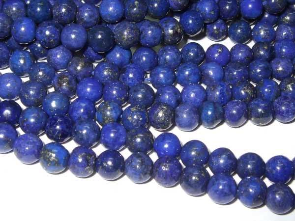 Lapis Lazuli Perlen Strang Kugeln 4 mm