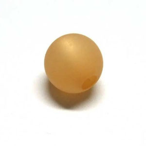 Polarisperle 6 mm goldbraun rund