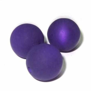 Polarisperle 8 mm violett rund