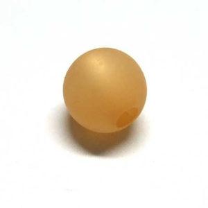 Polarisperle 10 mm goldbraun rund