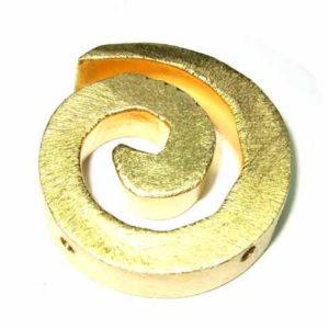 vergoldete Kupferperlen