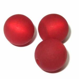 Polarisperle 6 mm rot rund