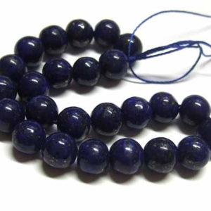 Lapis Lazuli Perlen kurzer Strang Kugeln 8 mm