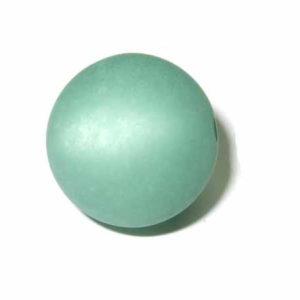 Polarisperle 8 mm kupfergrün rund