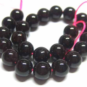 Granat Perlen 12473