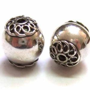 Bali Beads Silberperle 12676