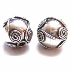 Bali Beads Silberperle 12681