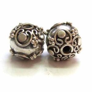 Bali Beads Silberperle 12690