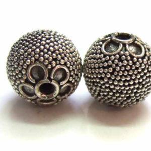 Bali Beads Silberperle 12689