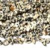 Dalmatiner Jaspis Endloskette Edelsteinperlen