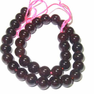 Granat Perlen 12474-6