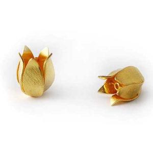 Blüte 925-Silber Perle