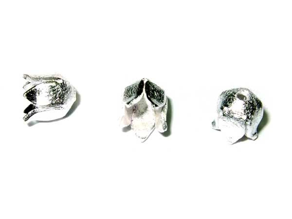wunderschöne Mini Blüte 925-Silberperle