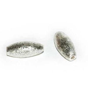 Silberperle Olive 13 mm 4351