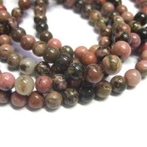 Rhodonit Perlen