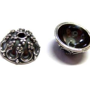 Bali Beads Silber Perlkappe 14340