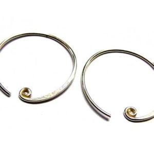 Bali Beads Ohrringe aus Silber 14345