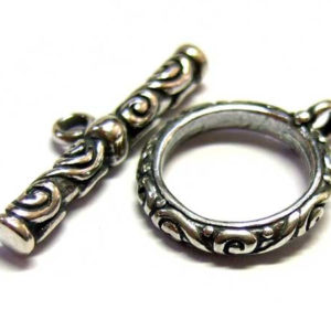 Bali Knebel-Verschluss aus Silber 14343