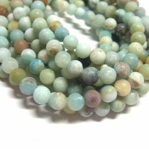matter Amazonit Perlen Strang