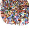 Cateye Würfel Perlen Strang 4 mm