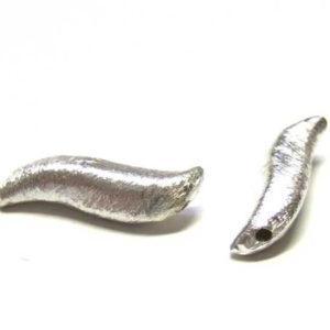 geschwungene geschwungene Silberperle 22 mm 14693