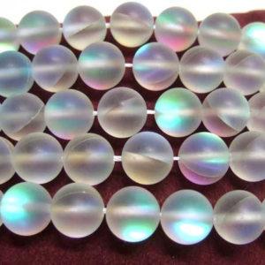 opalisierende Glasperlen