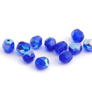 feuerpolierte böhm. Perlen 6 mm