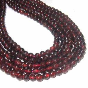 Granat Perlen 12745