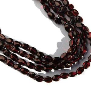 Granat Perlen Strang 4007