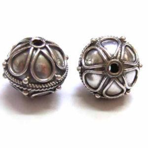 Bali Beads Silberperle 12663