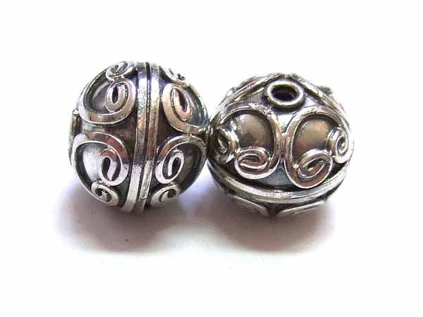Bali Beads Silberperle 12667