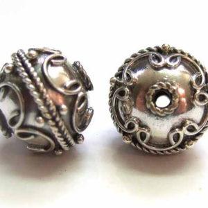 Bali Beads Silberperle 12695