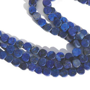 Lapis Lazuli Perlen Strang Coins Edelsteinperlen