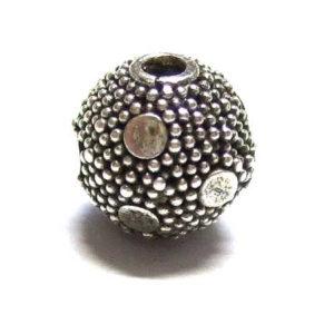 Bali Beads Silberperle 15396