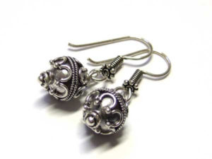 Ohrringe mit Bali Beads
