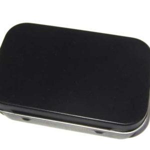 kleine Metallschachtel Box aus Metall