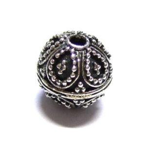 Bali Beads Silberperle 15394