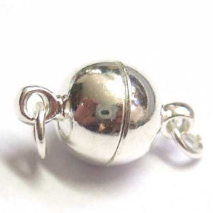Magnetverschluss für Ketten 8 mm silber 13783