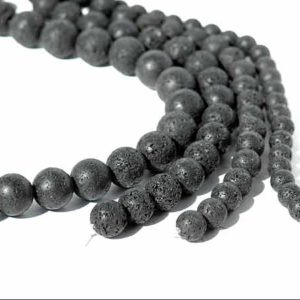 Lava Perlen Stränge