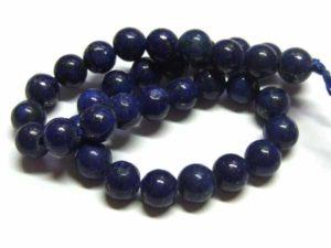kurzer Lapis Lazuli Perlenstrang