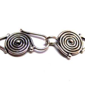 Bali Verschluss S-Haken 925-Silber 15534