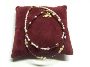 Silberperlen, Grant Perlen und Zuchtperlen Armband - DIY