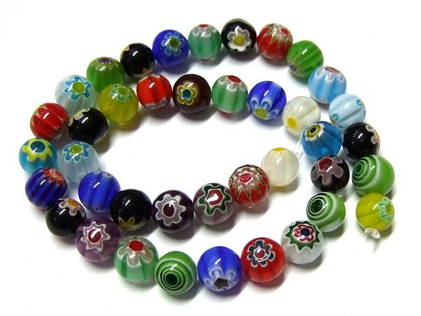 Millefiori Perlen